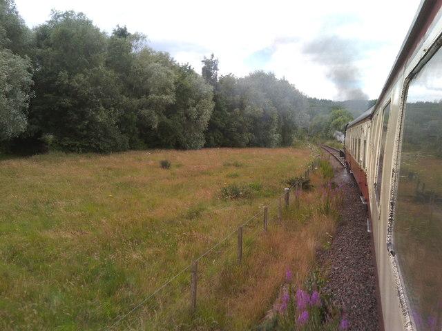 Approaching Birkhill from Kinneil Halt