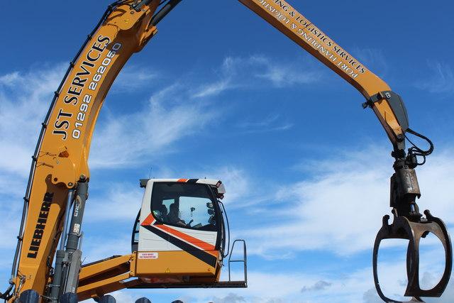 Crane Driver, Girvan Harbour