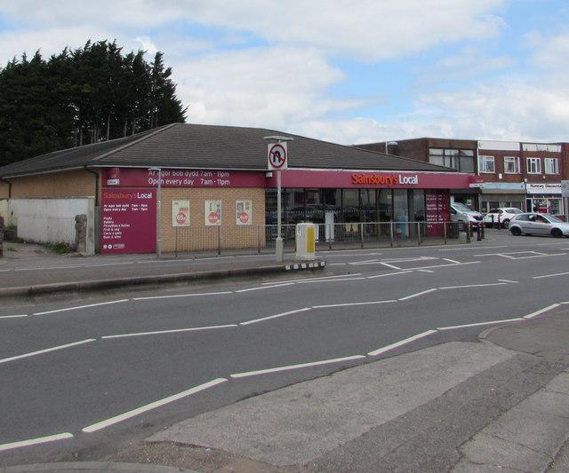 Sainsbury's Local, 751 Newport Road, Rumney, Cardiff