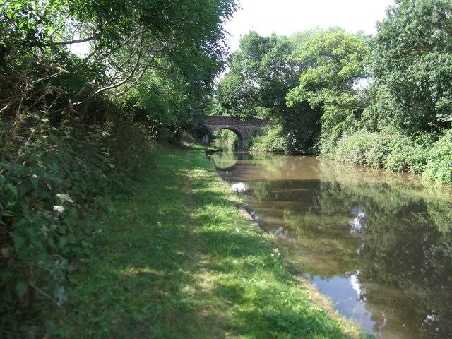 Approaching Halleman's Bridge