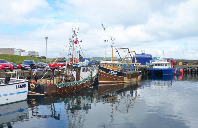 Fishing Boats, Symbister