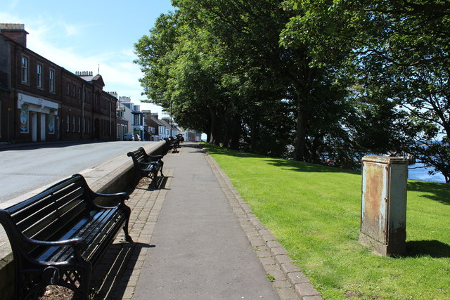 Footpath with Seating, Girvan