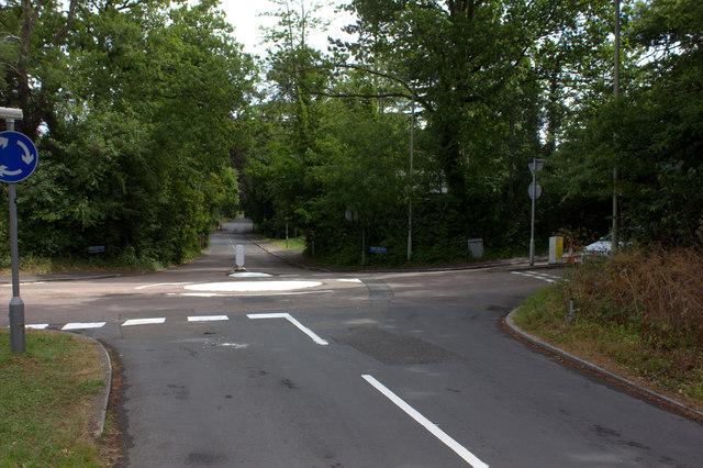 Denny's Lane, Shooters Way crossroads