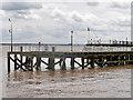 TA1028 : River Humber, Victoria Pier by David Dixon