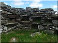 NB3137 : Shieling hut by Loch Gainmheach nam Faoileag, Isle of Lewis by Claire Pegrum