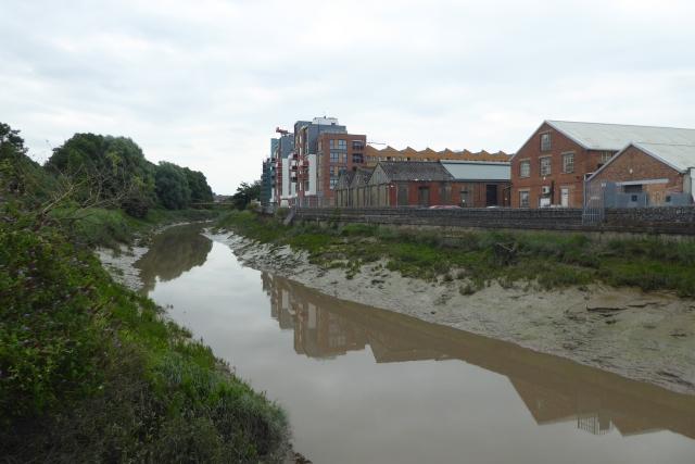 Upstream along the Avon