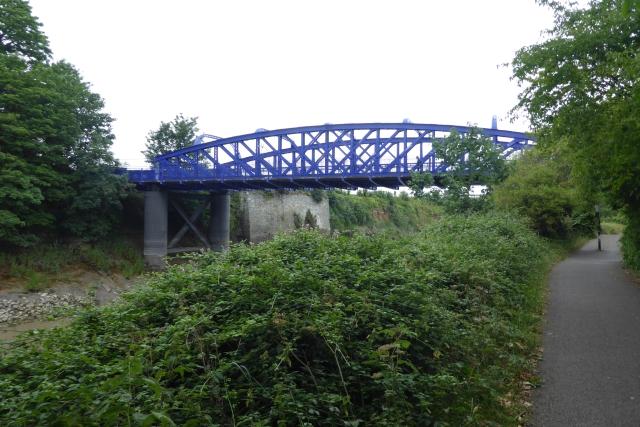 Rail bridge over the Avon