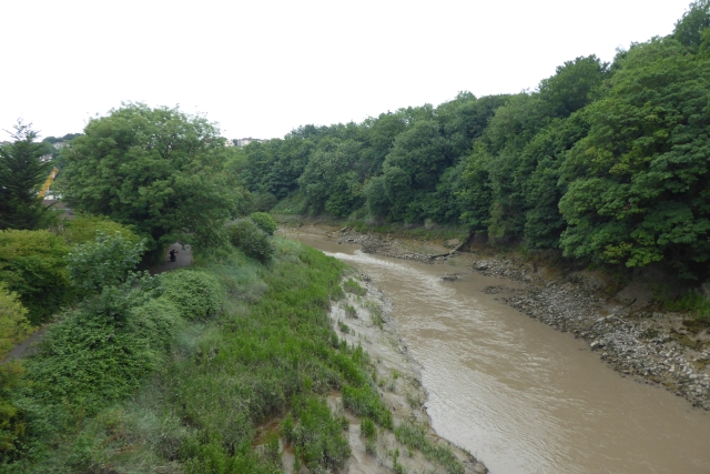 River Avon from the rail bridge