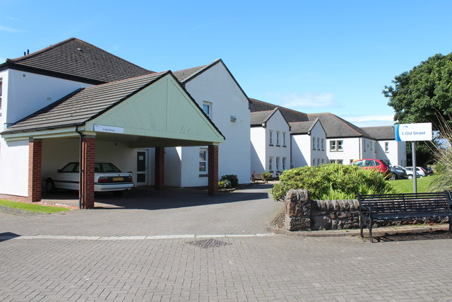 Trust Housing at Old Street, Girvan