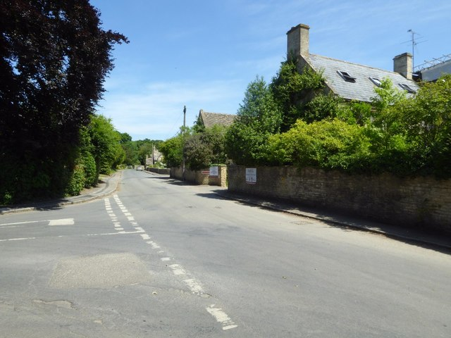 The village of Hatherop