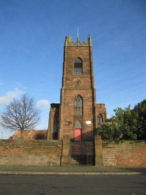 St George's Church, Northumberland Terrace, Everton