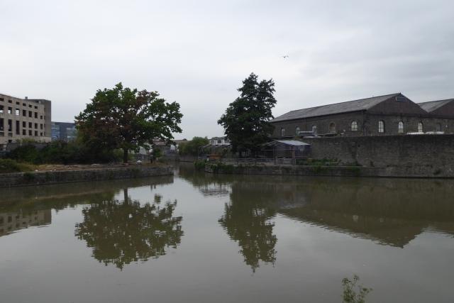 Floating harbour near Marsh Bridge