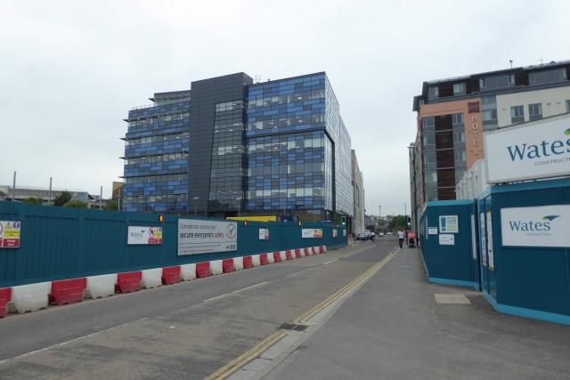Construction on Avon Street