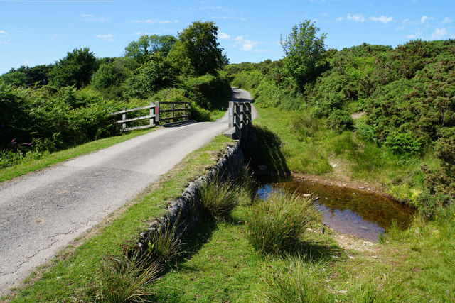 Small bridge near Shallowford
