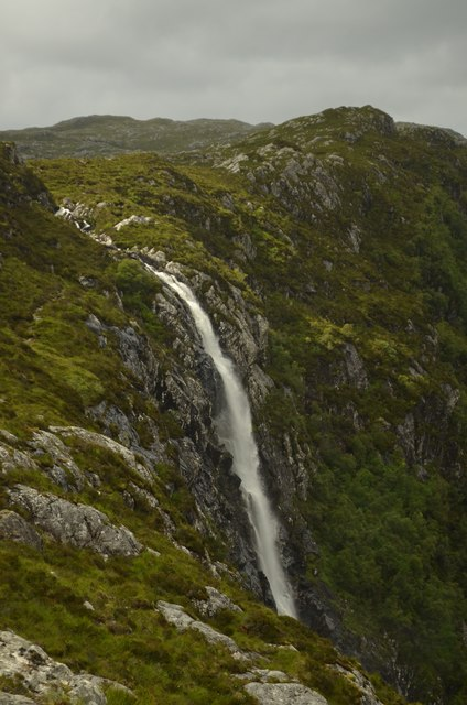 Eas a' Chual Aluinn: Britain's Tallest Waterfall