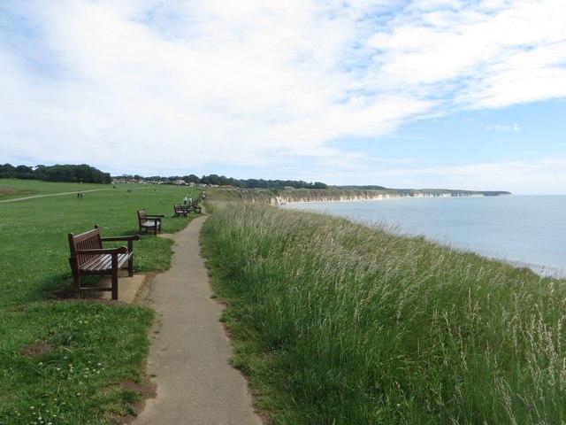 Public footpath towards Flamborough