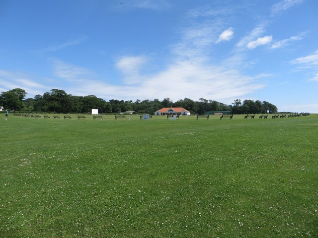 Cricket ground at Sewerby