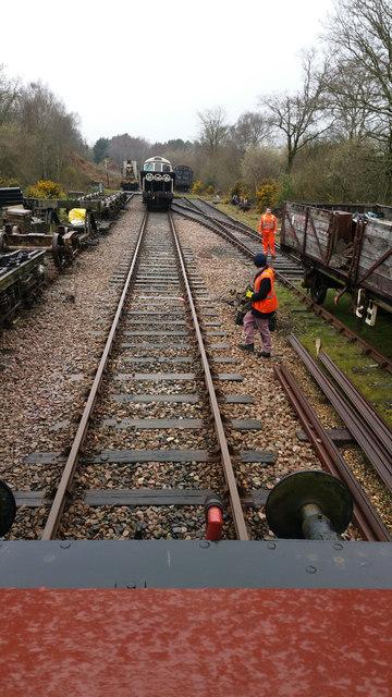 Shunting Eldons siding