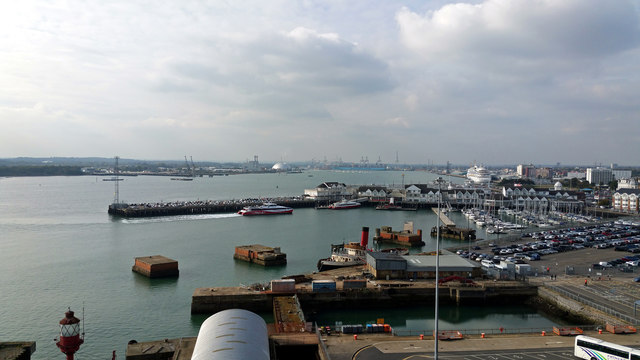 Southampton from the Cruise Terminal