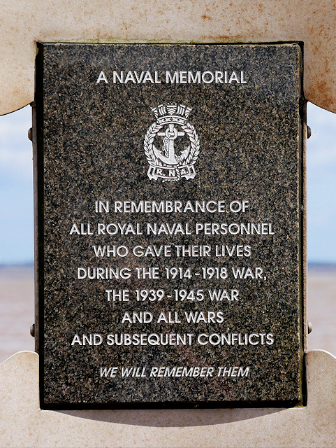 Naval Memorial Dedication tablet