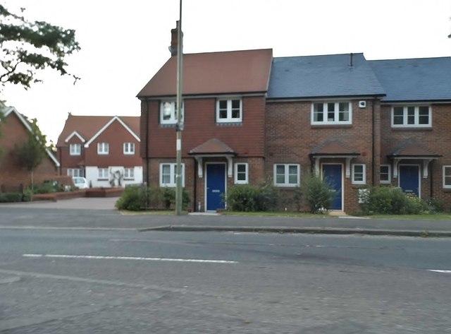 New houses on Winchester Village Development