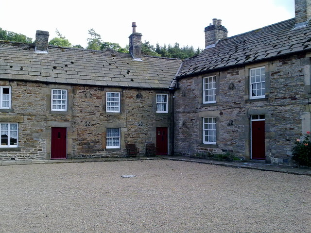 Houses at the Square in Blanchland