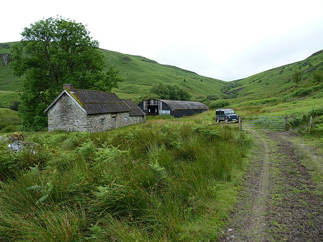 Hafod Fudr farm buildings