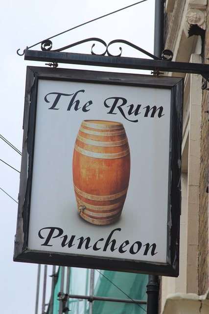 The Rum Puncheon sign