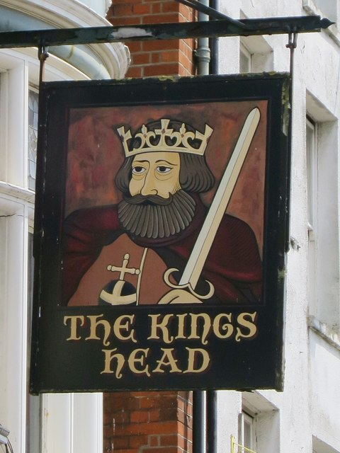 The Kings Head sign