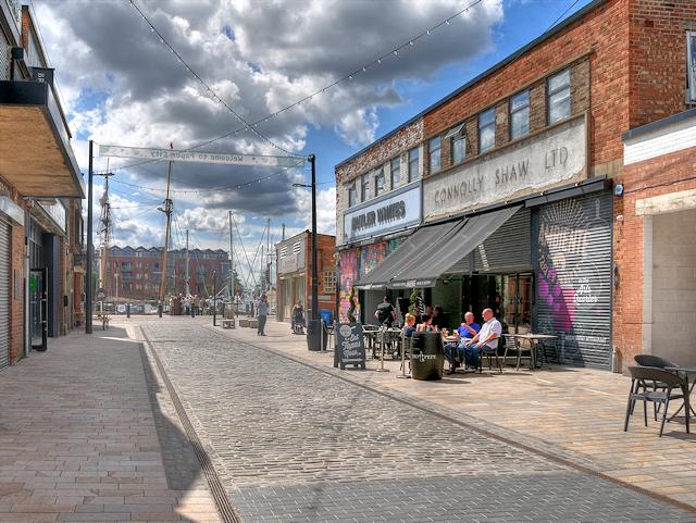 Kingston Upon Hull, Humber Street