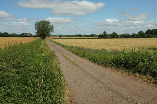 Track to Croome Farm