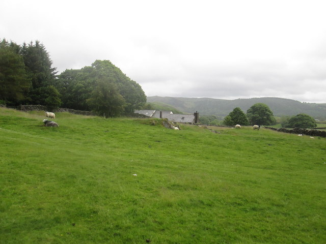 Cockenskell  farm  from  the  Cumbria  Way