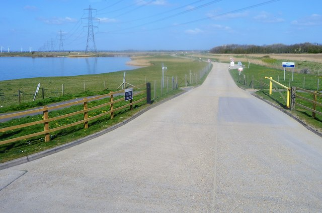 Track to gravel works