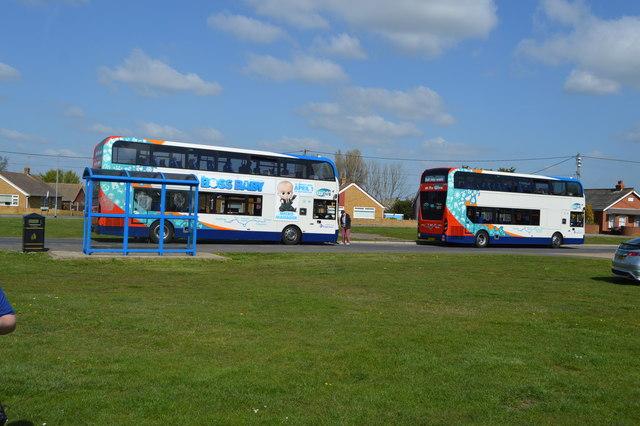 Buses at Lydd