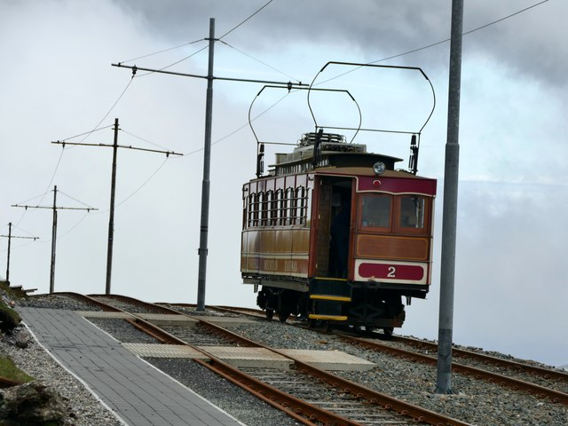 Car no. 2 on the Snaefell Mountain Railway