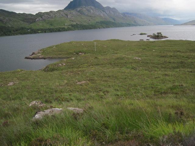 The islands of Sgeirean an Amadain from Ploc Aird na h-Eibhe