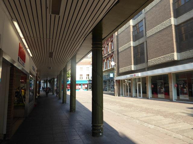 Shadows in London Street