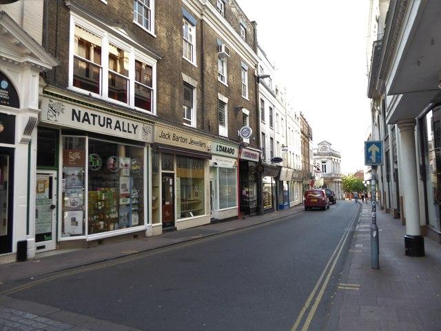 Shops in Exchange Street