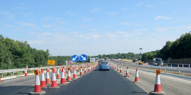 New stretch of A21