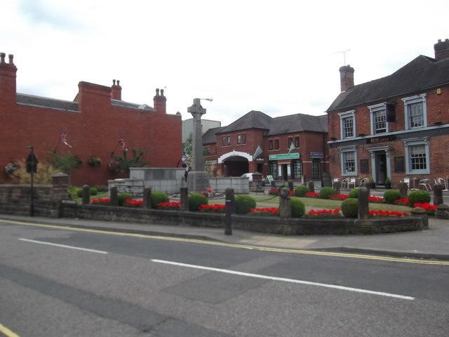 Market Drayton War Memorial