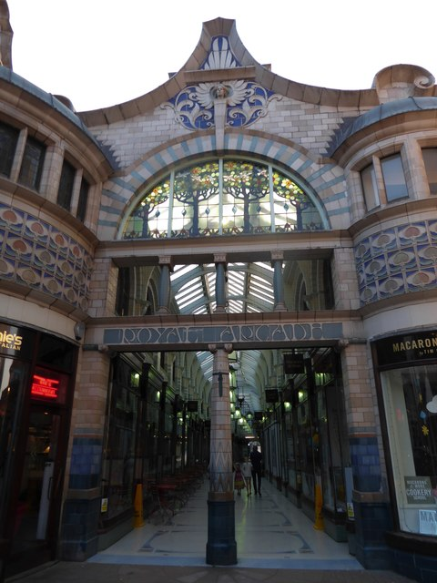 Entrance to the Royal Arcade