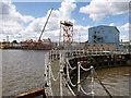 TA0927 : Albert Dock, Lock Gate by David Dixon