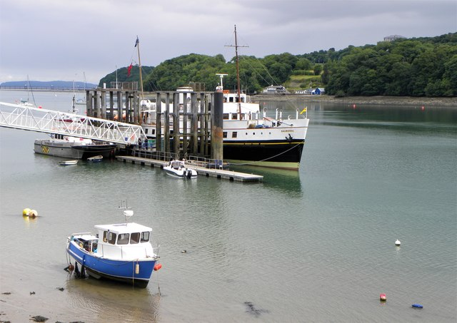 MV Balmoral at Menai Bridge