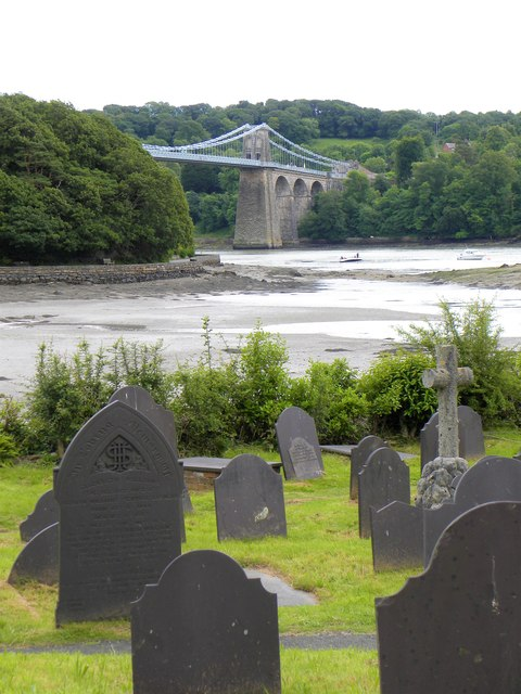 Church Island graveyard