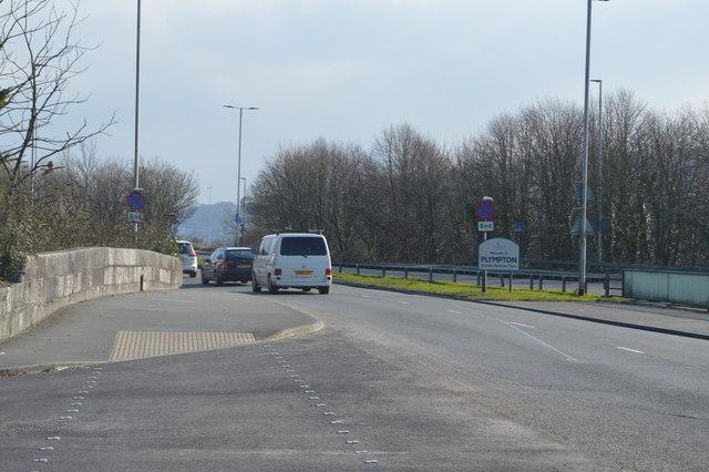 Entering Plympton (Long Bridge)
