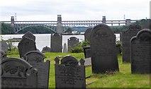 SH5571 : Graves on Church Island by Gordon Hatton