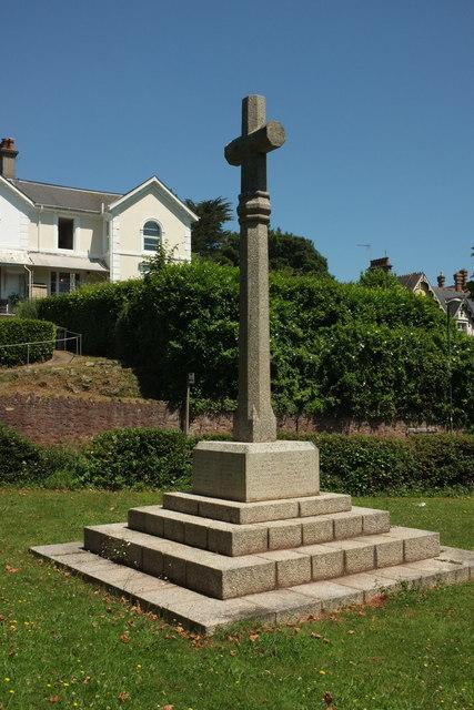War memorial, Chelston