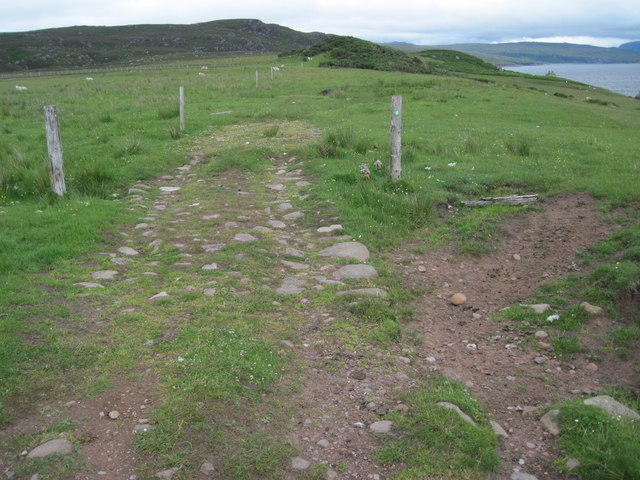 Track towards the Fishing Station