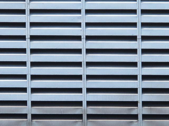 Victoria Line ventilation shaft, Tynemouth Road / Antill Road, N15 - detail