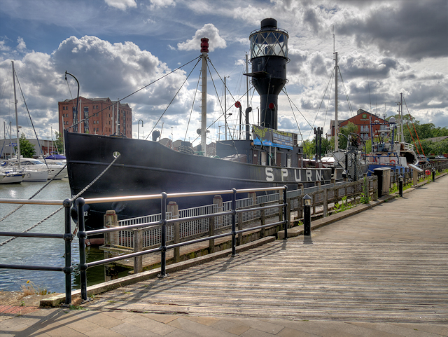The Spurn Lightship, Hull Marina